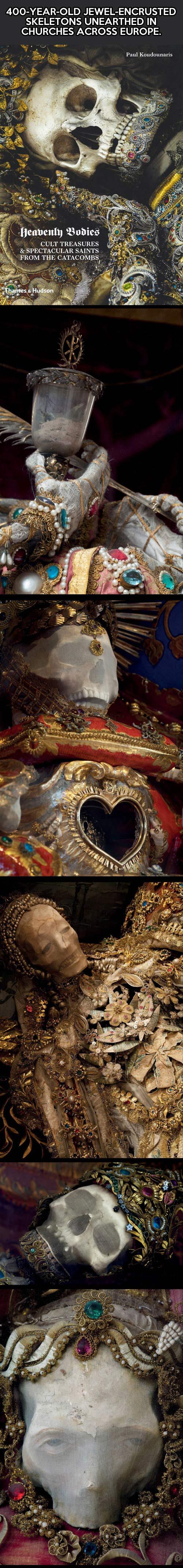 Beautiful bejeweled skeletons of Europe