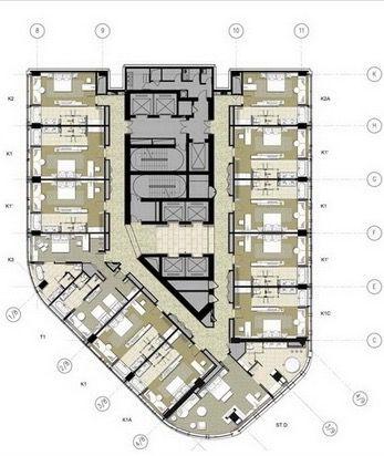 Conrad Beijing Hotel Floor Plan Hotel Design Architecture
