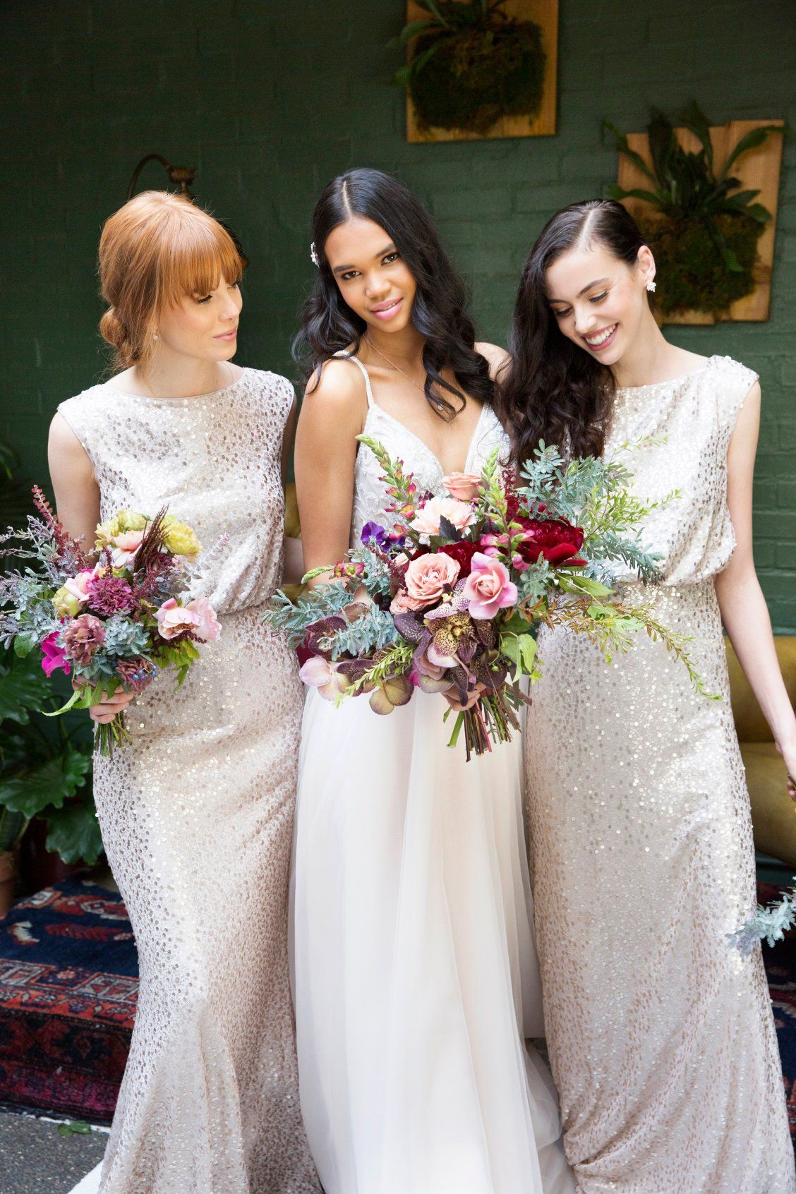 Shimmering gold looks for every member of the bridal party shop shimmering gold looks for every member of the bridal party shop ivory rose a ombrellifo Images