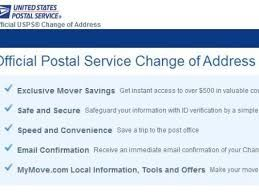 Change Your Address Online With The United States Post Office