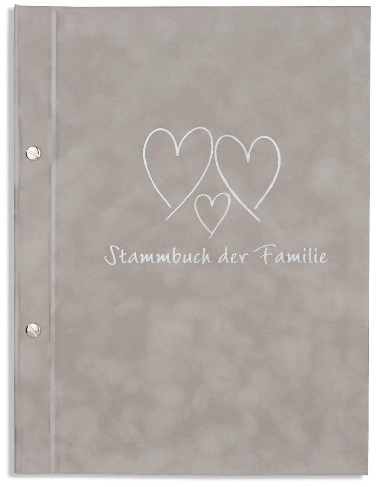 Familienstammbuch Stammbücher... braun gold A5 Stammbuch der Familie -Fonte-