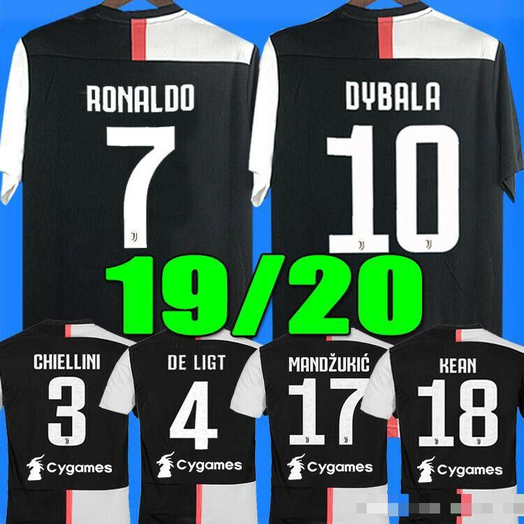 finest selection 4604b 8c0a9 2019 RONALDO JUVENTUS Soccer Jersey 2020 JUVE football new ...