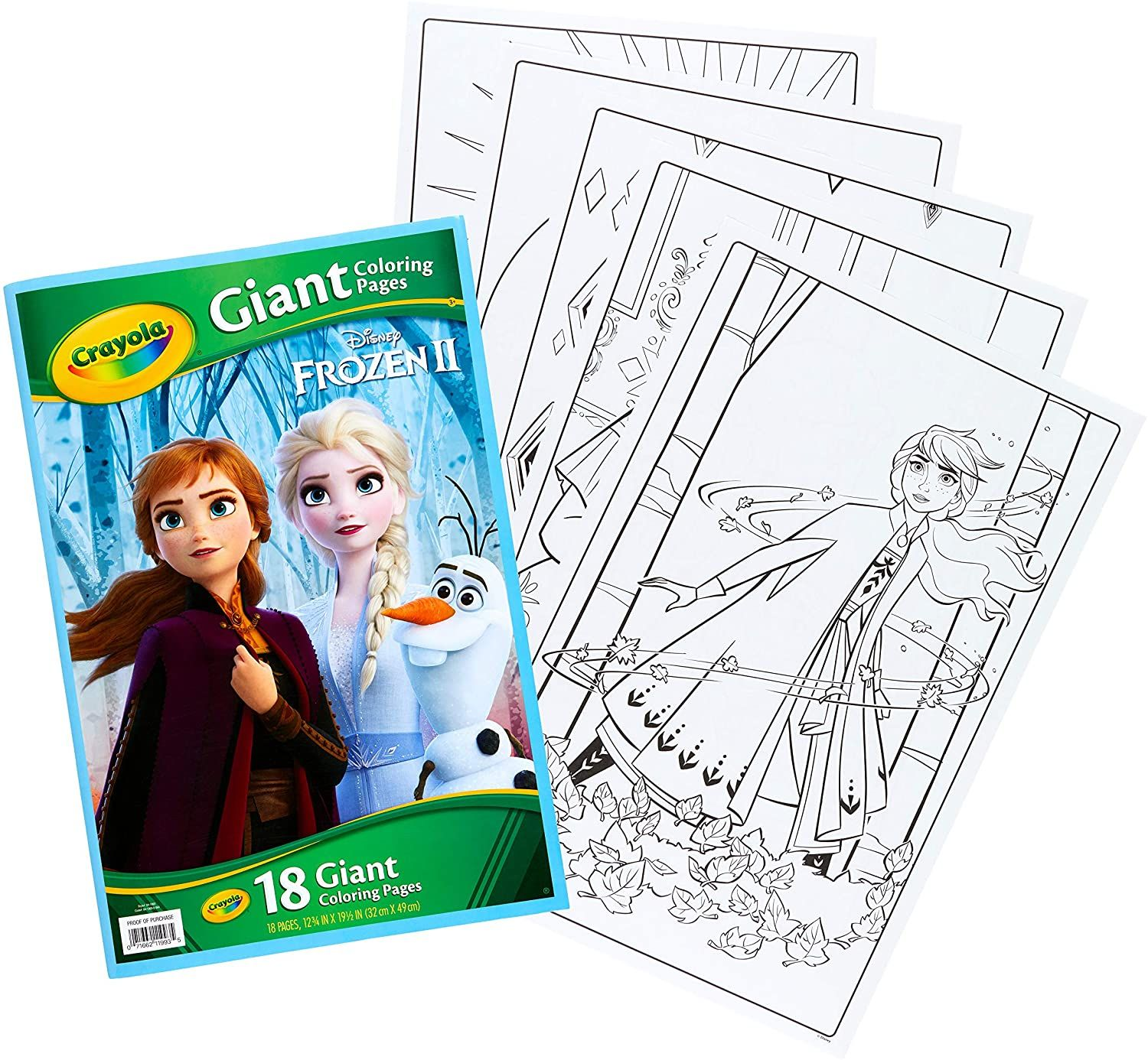 Crayola Frozen Giant Coloring Pages Kids Art Supplies Popular Disney Movies Coloring Pages