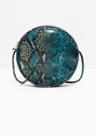 & Other Stories | Circular Leather Shoulder Bag