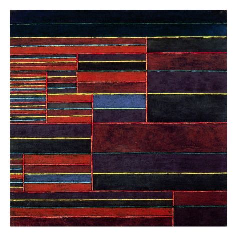 Klee: Six Thresholds, 1929 Giclee Print by Paul Klee at Art.com