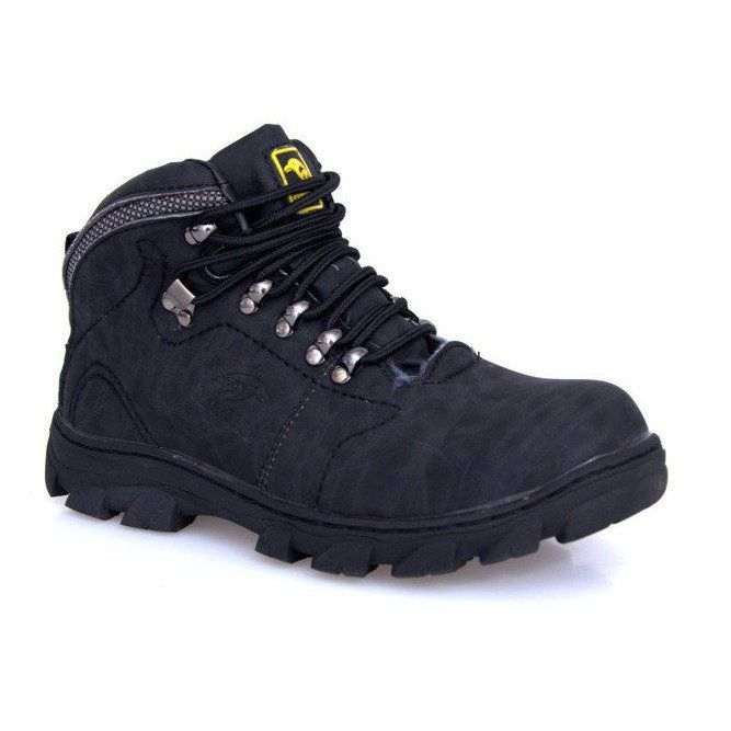 Ocieplane Timberki Trapery Dd498 4 Szary Szare Timber Boots Boots Trekking Shoes