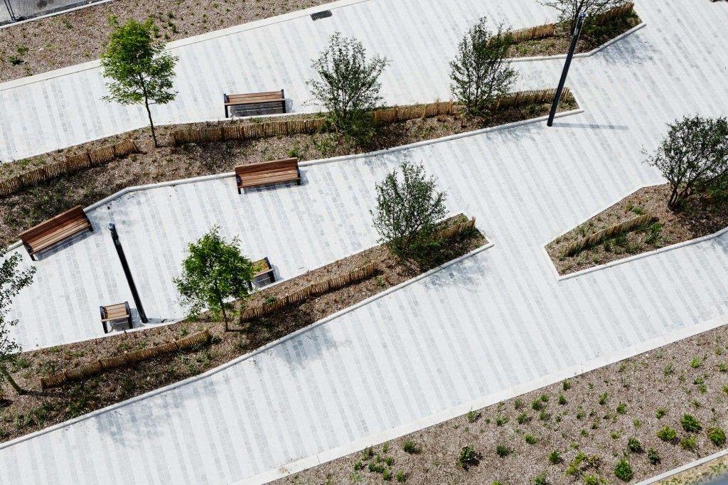 The Grand Ensemble Park Alfortville by Espace Libre