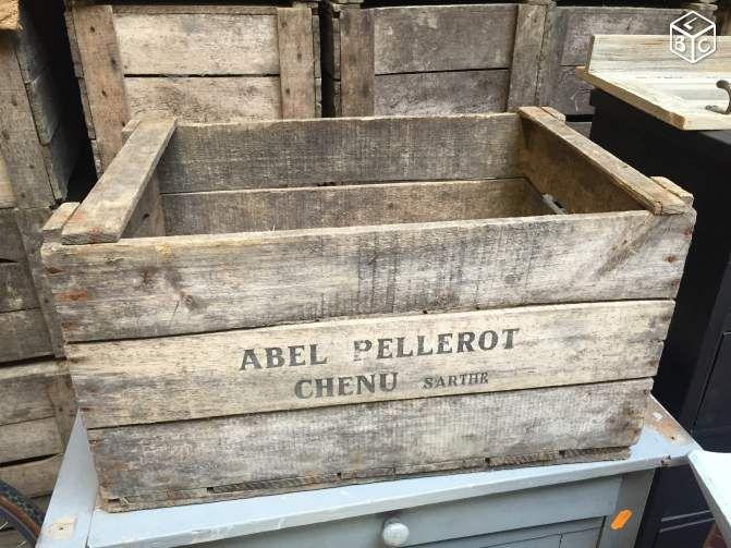Caisses De Pommes Antique En Bois Livraison Gratuite Grand Mtl