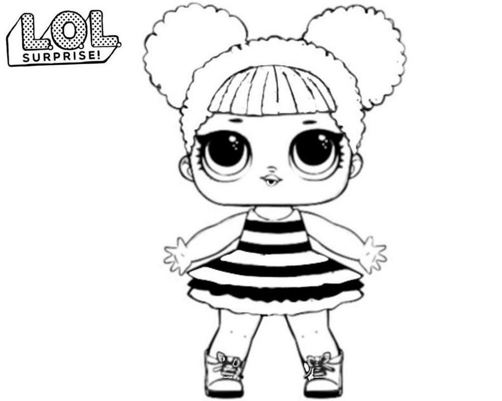 8 Lol Coloring Page Queen Bee Lol Dolls Cute Coloring Pages Coloring Pages