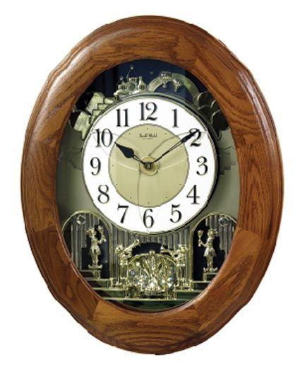 Rhythm Clocks 4mh833wb06 Nostalgia Oak Legend And Discount Rhythm Clocks Small World Clocks Rhythm Clocks Wall Clock Clock