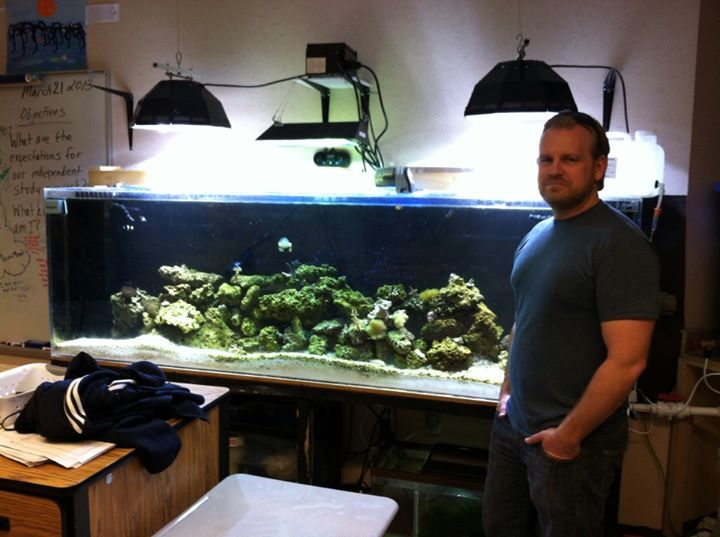 Help support Save My Classroom Reef Aquarium  .