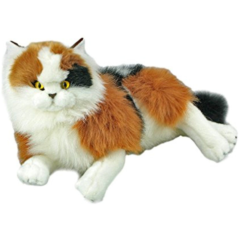 Bocchetta Plush Toys Calico Cat Kitten Stuffed Animal Marmalade 14