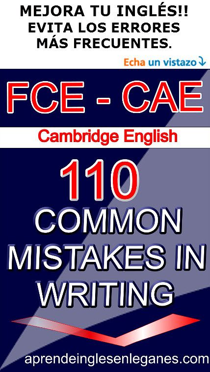 fce  first certificate cae  advanced english mistakes in writing  fce  first certificate cae  advanced english mistakes in writing how to  write an essay how to write a report
