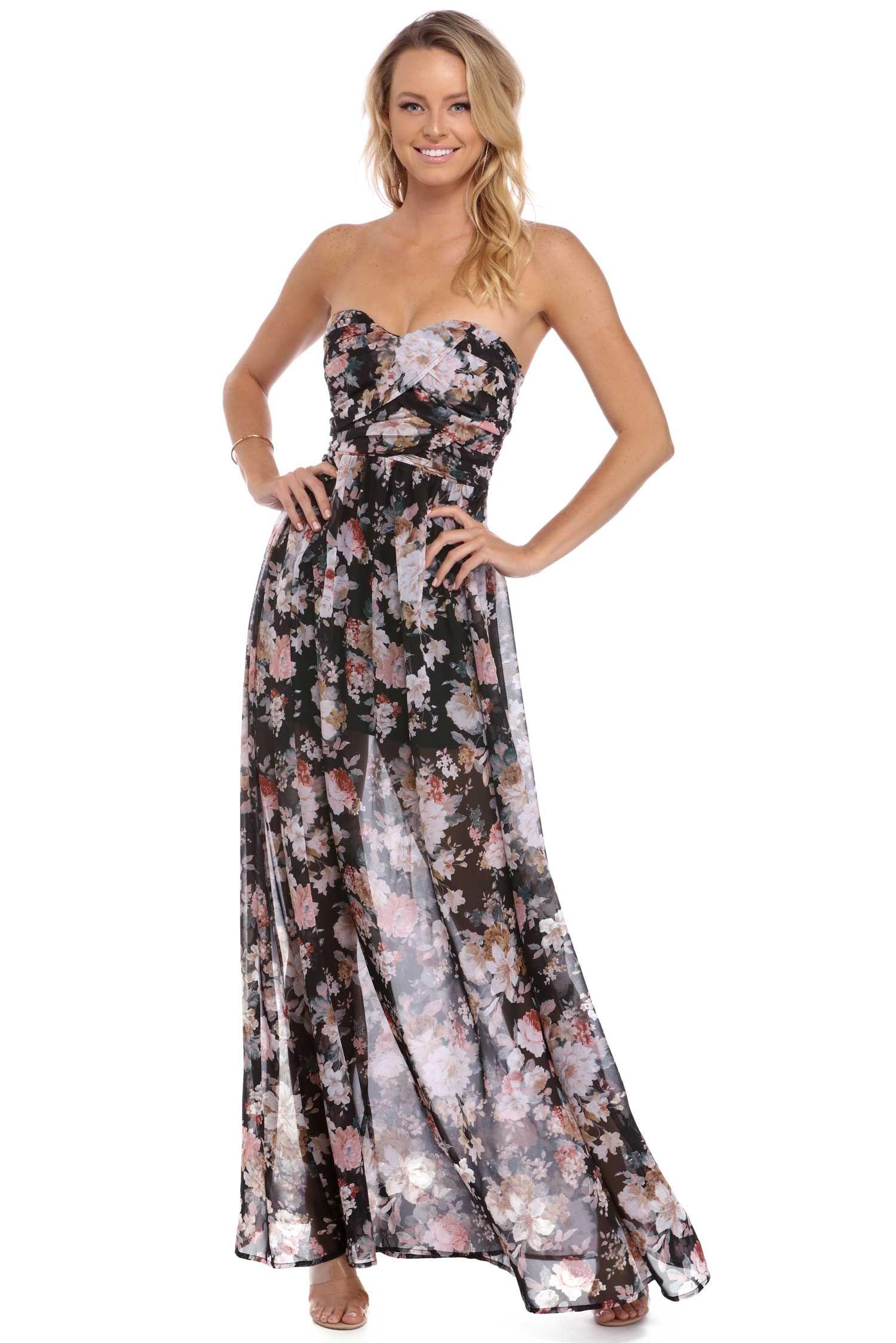 e6214c6b4c60 Rosanne Black Strapless Romance Dress | windsor | Wedding Bells in ...