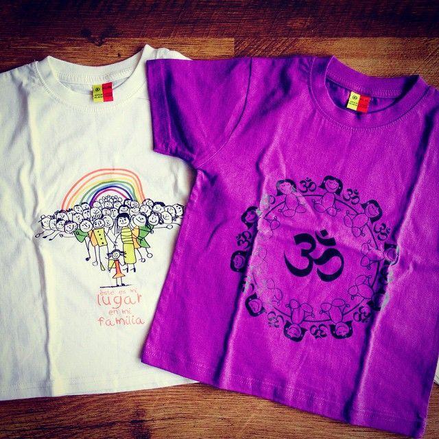 Poleras para niños con diseños maravillosos. www.regalosquetransforman.cl