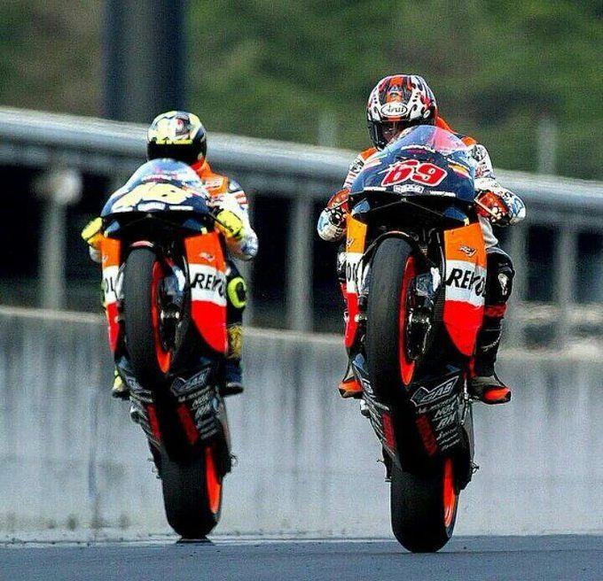 Hayden Rossi Valentino Rossi Moto Bike Racing Bikes