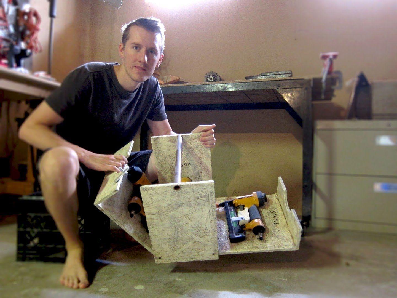 Folding Tool Box | Caixa, Caixote de feira e Outros | Pinterest ...