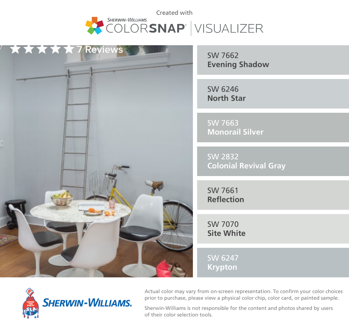 Gray Matters Sherwin Williams Sherwin Williams Evening Shadow Sw 7662 North Star Sw