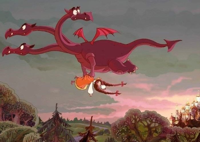 Или вот этот вот бред с драконом: «Приведите мне самую красивую девушку, я её съем!» Это зачем? Нам назло, что ли, чтобы нам не досталось. Зачем её есть? Съешь самую толстую — её больше, она вкуснее наверняка. Главное, как он понимает, какая самая красивая? «Приведите мне самую красивую обезьяну!» Мы же даже у китайцев не разбираемся, кто там из них. Приводишь дракону самую страшную и говоришь: «Вот наша красавица!» И ему приятно, и ей. https://plus.google.com/+СоняВейлина/posts/DJ9gAiNJtCD