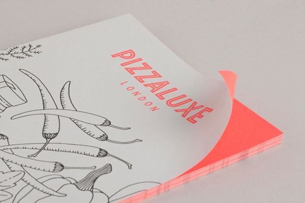Branding project for Pizza Luxe, by Touch