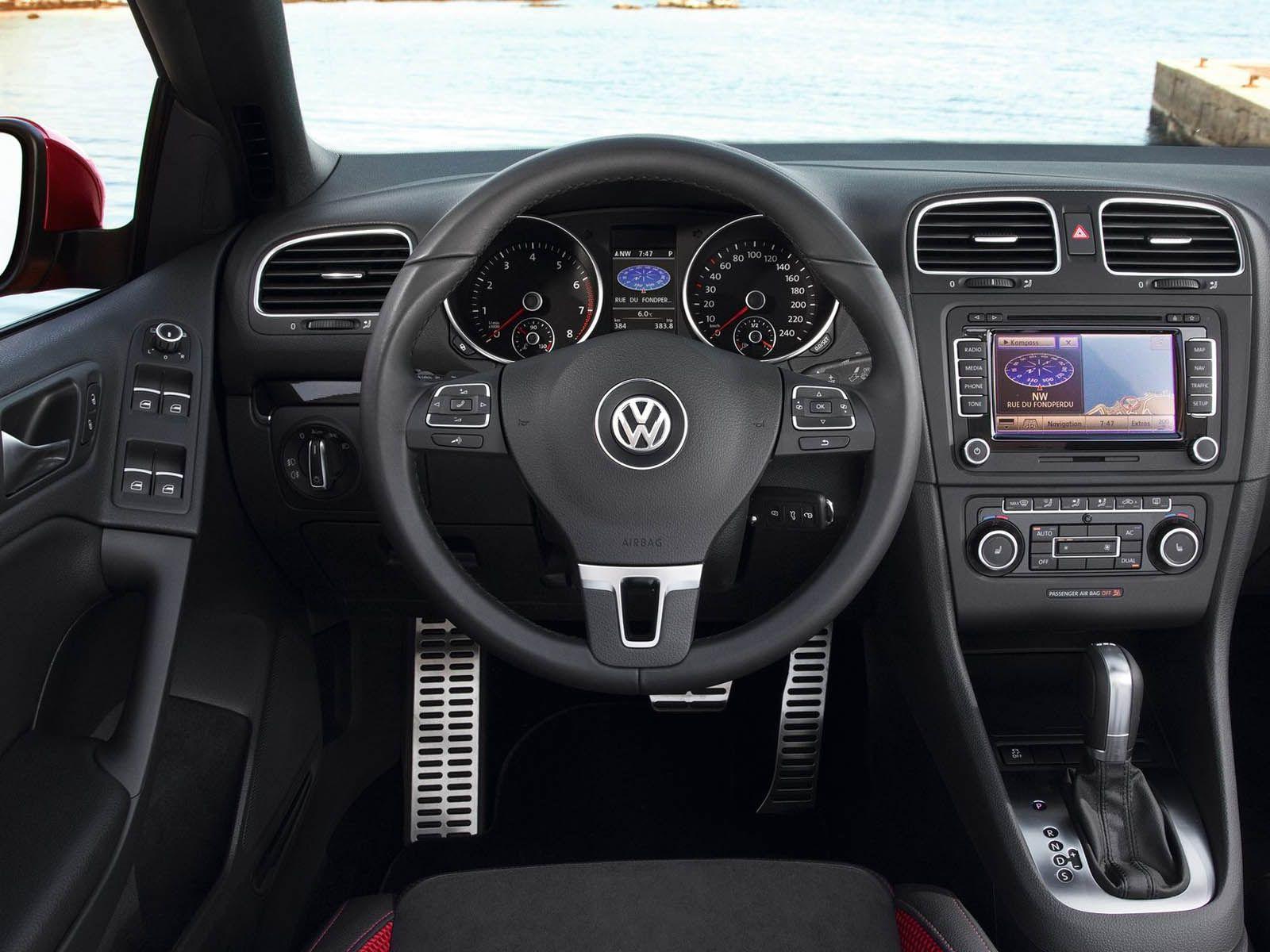 Volkswagen Golf Cabriolet 2012 Interior Volkswagen Cabriolets