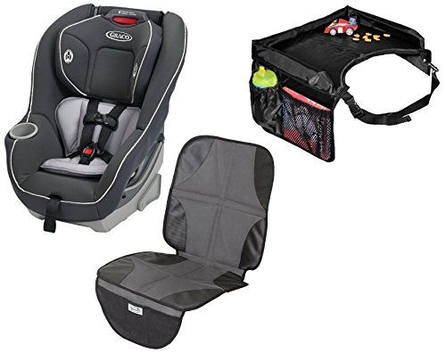 Graco Contender 65 Convertible Car Seat With Snack Tray Mat Glacier Read More