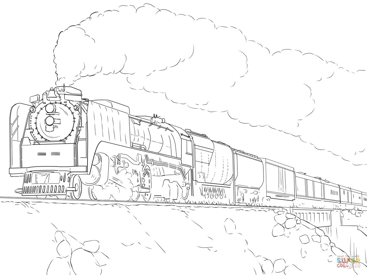 Union Pacific Coloring Pages Free Train Coloring Pages Cars Coloring Pages Coloring Pages