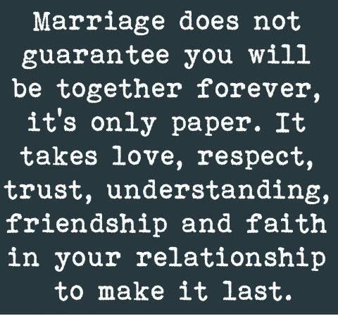 True Love Trust Respect Quote It S Only Paper It Takes Love Respect Trust Understanding Friends Marriage Quotes Meaningful Love Quotes Love Quotes Photos