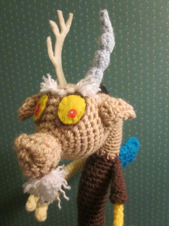 Amigurumi Discord from My Little Pony Friendship is Magic | My ...