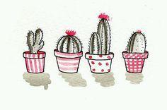 cactus illustration tumblr - Buscar con Google