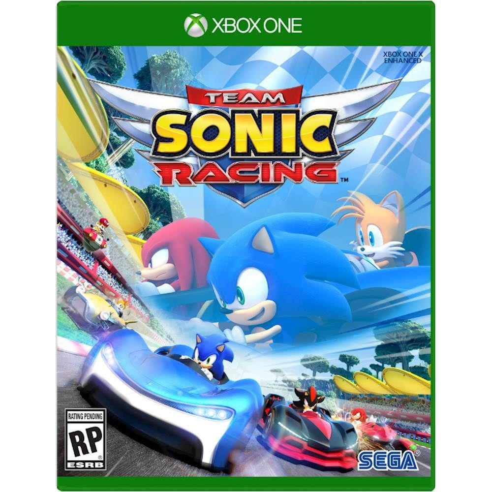 Team Sonic Racing Xbox One Xbox one, Xbox one games, Xbox