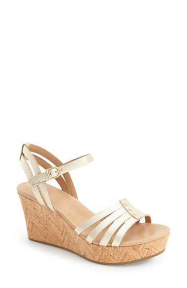 4a97b97eb6b8 UGG®  Brigitte  Wedge Sandal (Women) available at  Nordstrom