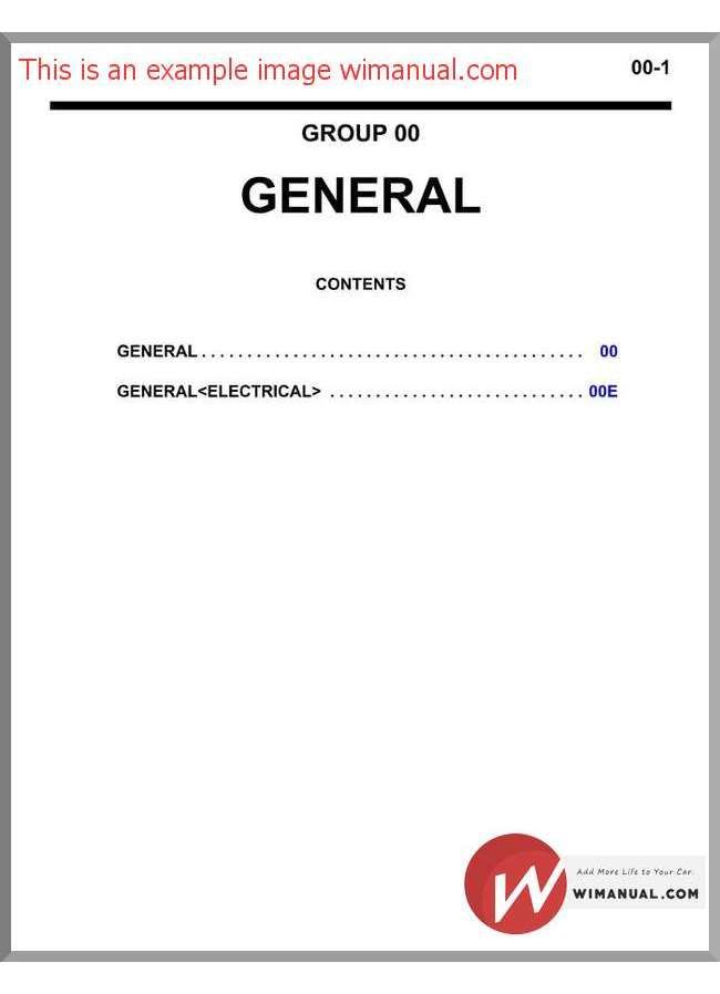 Mitsubishi Triton L200 Workshop Manual 2006 2013 Triton L200