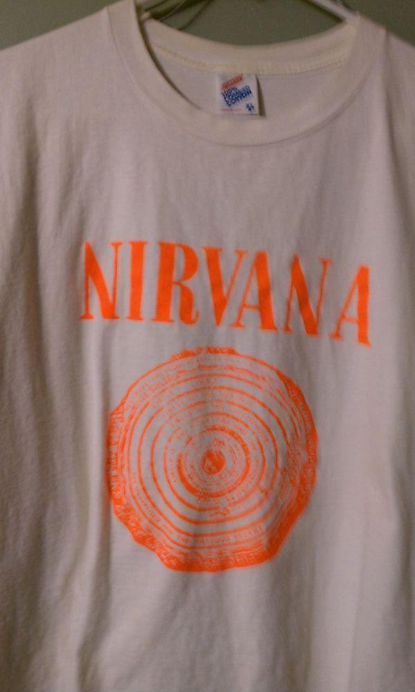 2dc5ae1ff NIRVANA Vintage T Shirt 90's Tour Concert 1992 Seattle PUNK GRUNGE ROCK  Cobain #JERZEES #GraphicTee