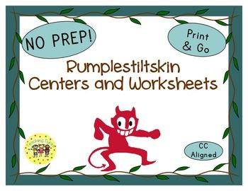 Rumplestiltskin Thematic Centers and Worksheets ***Common Core Aligned*** This Rumplestiltskin packet contains: Reading Center Book List Art Center Project Writing Center Activity Computer Center Websites AND 9 worksheets