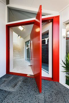 What Does Your Front Door Say About You? - QB Blog | Door design, Front door design, Modern entry