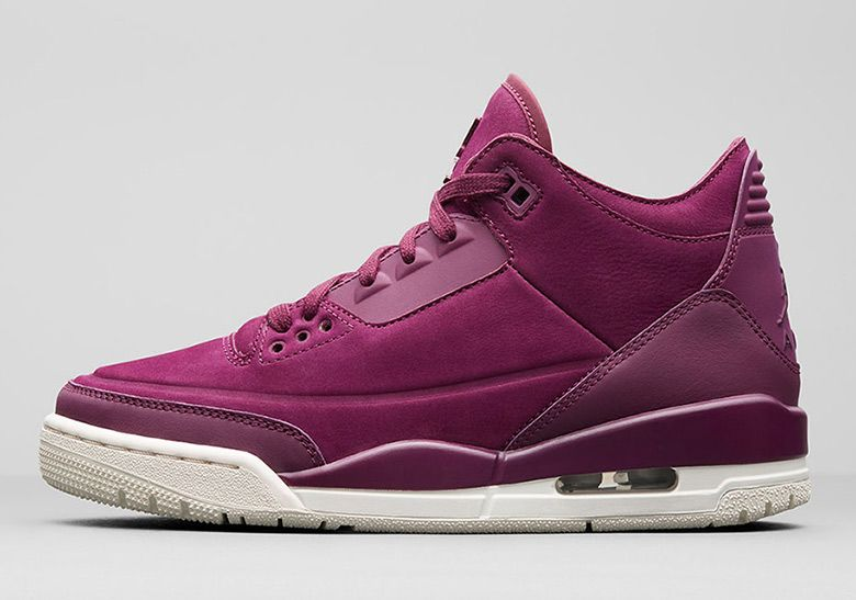 c4ce6f840edd Air Jordan 3 Retro Set To Release In Bordeaux For Women