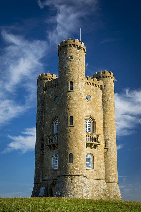 Broadway Tower, the Cotswolds, Worcestershire, England. Brian Jannsen Photograph