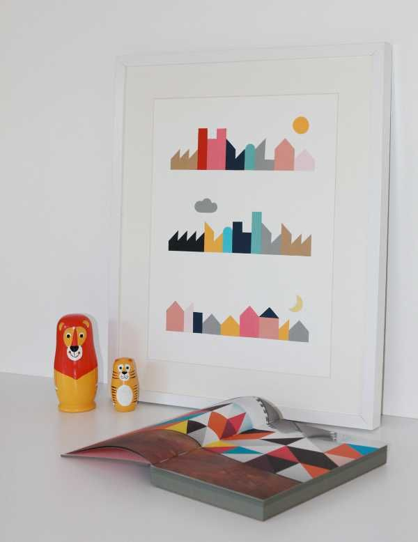 Simply Stunning Nursery Artwork By Bricks And Paper Babyology
