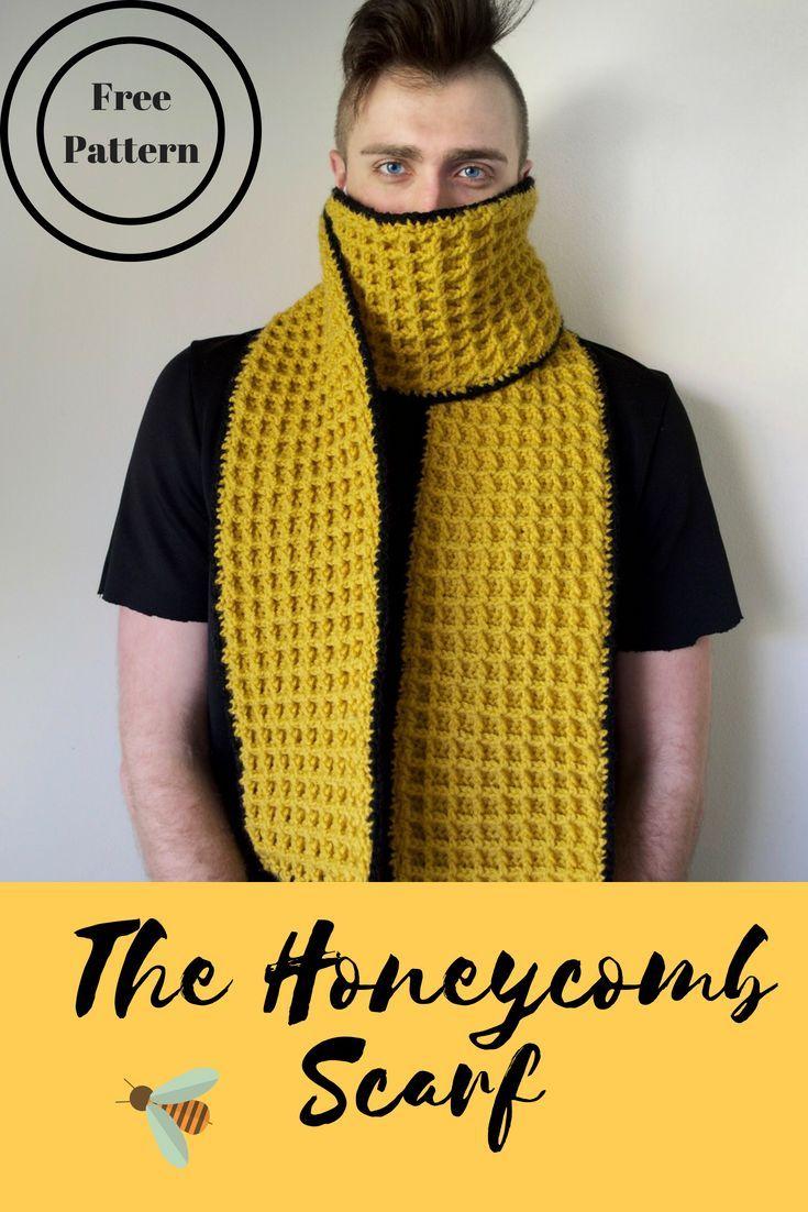 Honeycomb Scarf | Pinterest