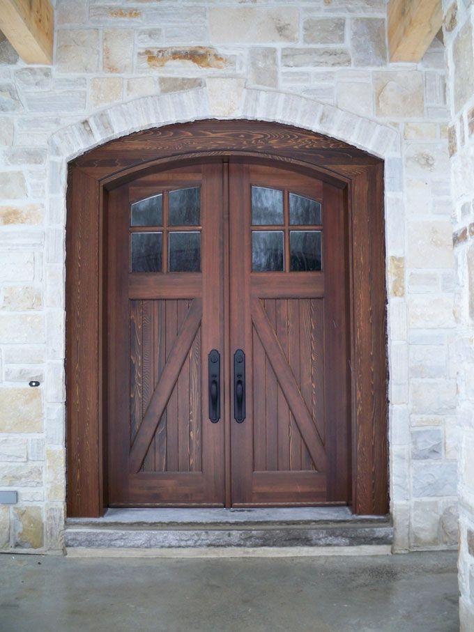 Custom Wood entry doors - Portes d\'entrée en bois - Portes Bourassa ...