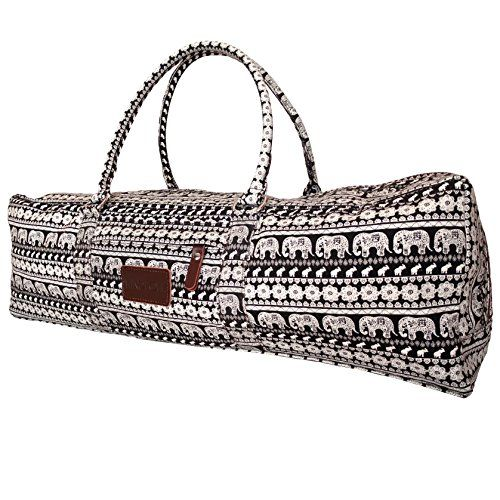 Yoga Mat Duffle Bag Patterned Canvas With Pocket And Zipp Https