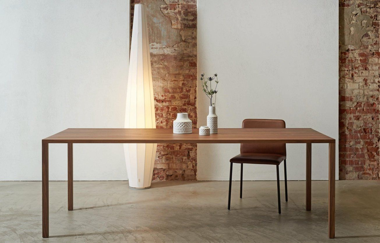 The Contemporary Slim Dining Tablestudio Iq Available From Iq Mesmerizing Slim Dining Room Tables Design Decoration