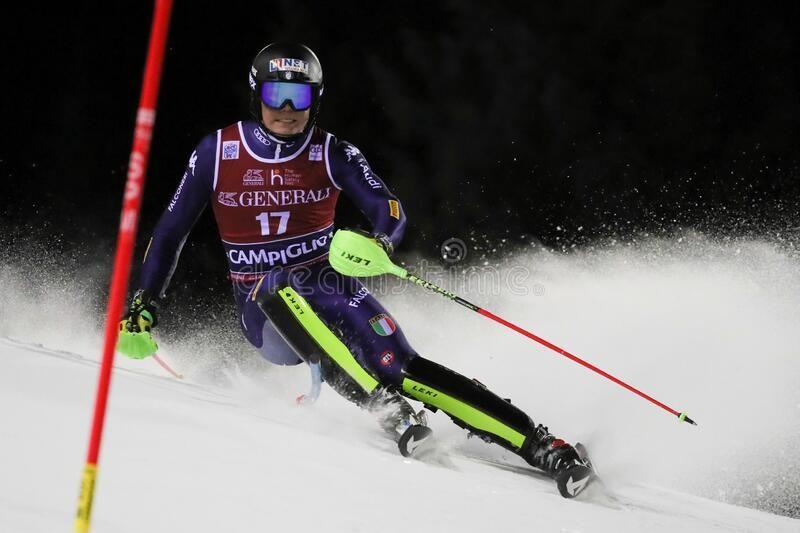 Ski FIS AUDI World Cup - Slalom Men stock photo ,