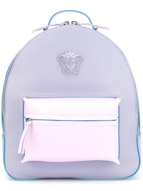 0eceba4210 Shop Versace Medusa Palazzo backpack.