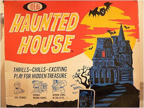 13 Spooky Vintage Board Games Vintage Board Games Haunted House Games Board Games