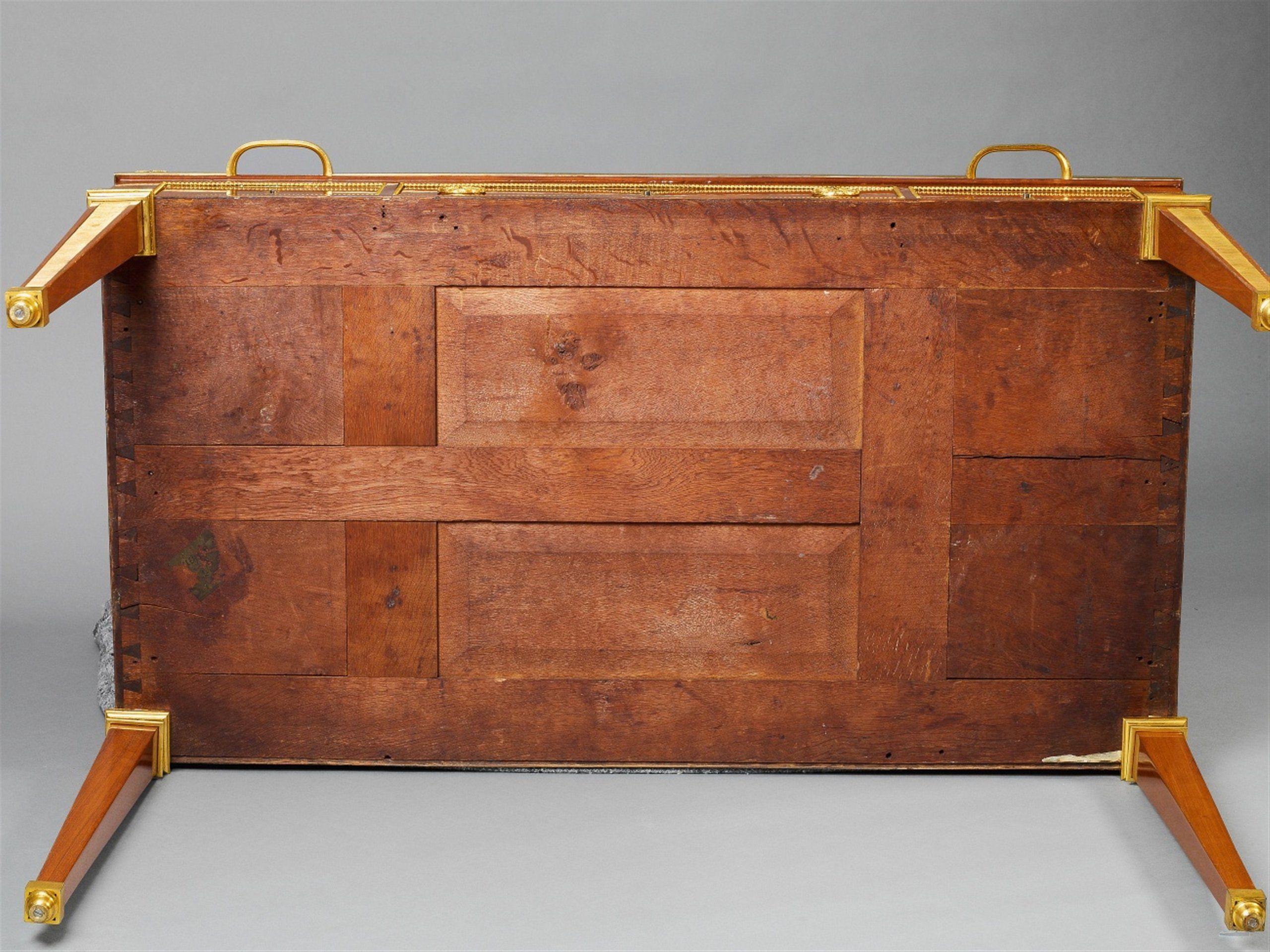 David Roentgen Neuwied Um 1790zylinderbüro Von David Roentgen