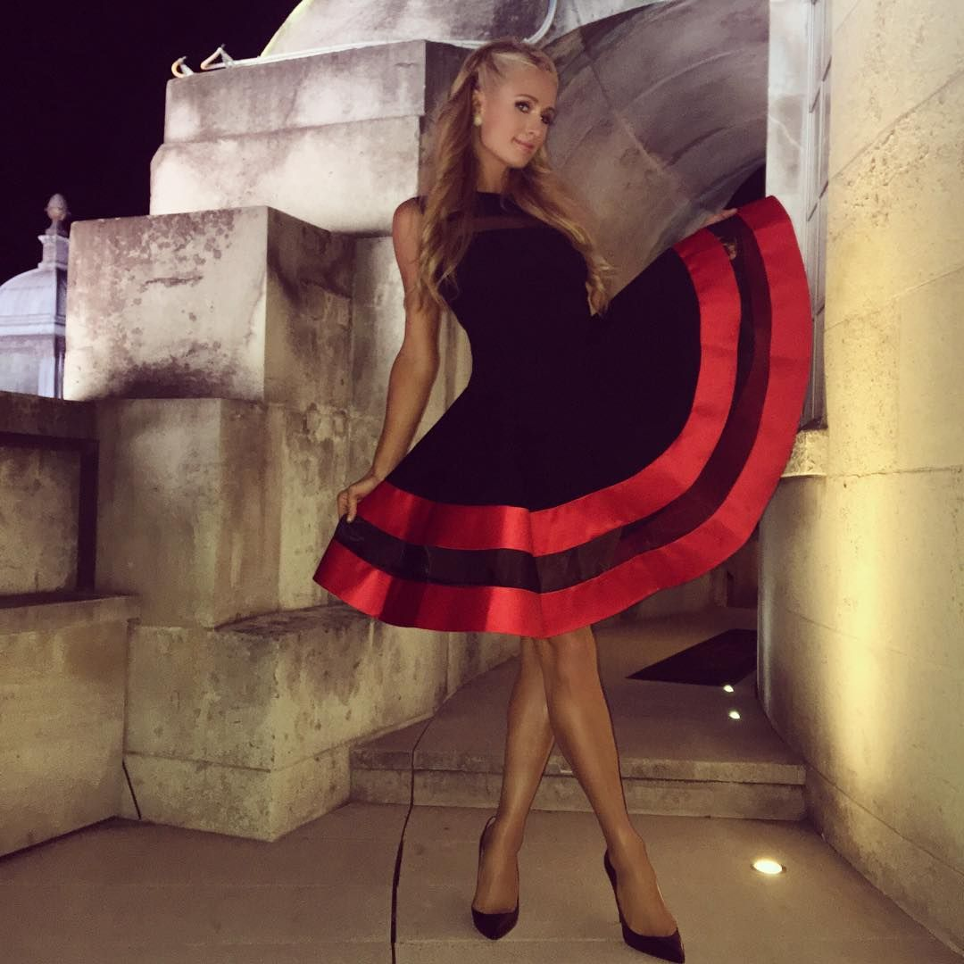 Hilton nicky instagram forecast dress for summer in 2019
