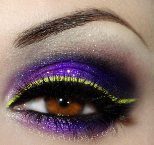 Purple, Neon & Black~