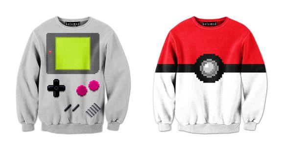Suéteres Pixelados